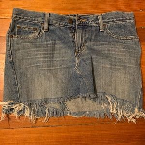 American Eagle Outfitters Denim Mini Skirt Size 6
